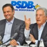 Ex-presidente diz em nota que o pré-candidato Aécio Neves 'conduzirá o tema em nome do PSDB'