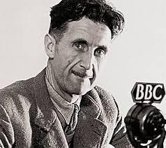 George Orwell Escritor Eric Arthur Blair, mais conhecido pelo pseudónimo George Orwell, foi um escritor e jornalista inglês.